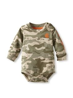 Carhartt Baby-boys Infant Camo Logo Bodyshirt, « Impulse Clothes