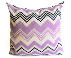 Decorative pillow cover One 20 x 20 purple by ThePillowPeople