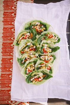 Raw Corn + Avocado Tacos