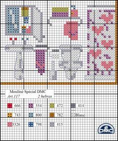 El blog de Dmc: Diagrama casa punto de cruz: el cuarto de baño