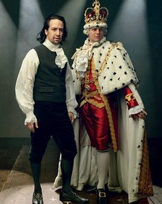 Photos! See HAMILTON's Founding Father Lin-Manuel Miranda & King Jonathan Groff in VOGUE