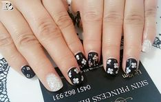 Flowers Nail Art New Idea for Spring 2018 - Reny styles Flower Nail Designs, Flower Nail Art, Spring Nails, Summer Nails, Glitter French Tips, Pastel Floral, Style Pastel, French Nail Art, Nails 2018