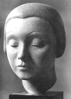 Auguste Zamoyski (1893-1970) - Tête de Femme, 1927