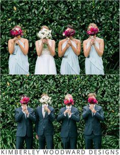 Sally's beautiful #bridesmaids in #CarlaZampatti. Photographer: Jac and Heath Photography. #bride #weddings #kimberleywoodwarddesigns