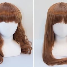 Straightening a Wig with Heat