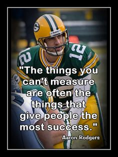 Football Success Motivation Poster, Coaching Wall Art, SON Room Wall Decor featuring Aaron Rodgers and a compelling message. Gift for a Green Bay Packers fan or an Aaron Rodgers fan. Packers Baby, Go Packers, Green Bay Packers Fans, Packers Football, Football Players, Greenbay Packers, Packers Memes, Nfl Memes, Football Baby
