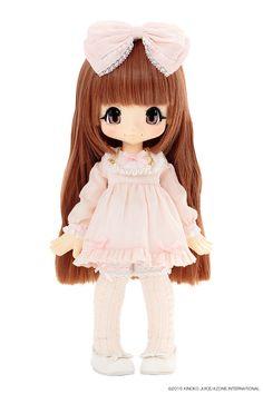 KIKIPOP! Romantic Frill Sugar Doll (Caramel Brown)