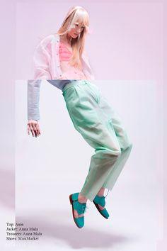 Eclectic fashion editorials featuring Dutch designers photos by Imke Panhuijzen