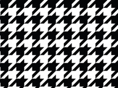 @Andrea / FICTILIS Al-Qadi (Andrea at Sam Ridley) is OBSESSED with houndstooth! Makes a great wallpaper, background or template!