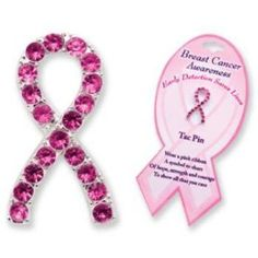 BREAST CANCER AWARENESS- TAC PIN- Lead Safe