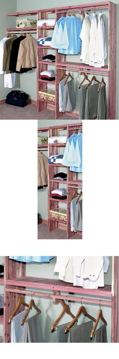 Closet Organizers 43503: Signature Hardware Deluxe Solid Cedar Closet Wall  Kit  U003e BUY IT