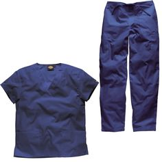 Navy blue nurse scrubs, hospital scrubs & surgical scrubs perfect to enhance your professional image at work.
