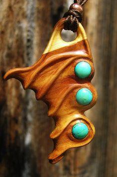Haarnadel Yoga Maori Sono Holz Wood Hairpin Haarstab Haargabel Haarforke