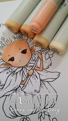 copics for skin colors