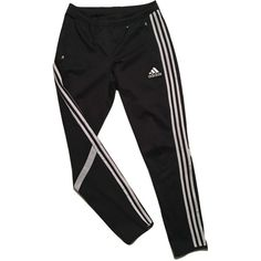 b5d4f06b8d5e Adidas tracksuit Pants vintage 90s Sz M ( 23) ❤ liked on Polyvore featuring  activewear