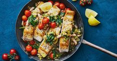 Use up your pantry basics with this quick and easy, one-pan fish recipe. Slow Roast Lamb, Slow Cooked Lamb, Fish Recipes, Seafood Recipes, Seafood Dishes, Vegetarian Recipes, Recipies, One Pot Dinners, Easy Dinners