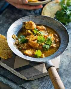 This hot and sour fish curry by Valli Little is easy, healthy and % only takes 30 minutes to make so you can knock it together quickly on a weeknight. Best Seafood Recipes, Fish Recipes, Indian Food Recipes, Healthy Dinner Recipes, Ethnic Recipes, Spicy Recipes, Healthy Tips, Healthy Meals, Delicious Recipes