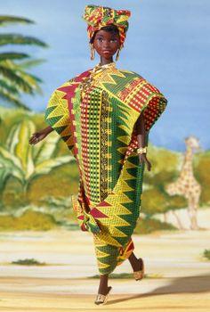 Barbie Dolls of the World – Africa   Ghanaian Barbie Doll
