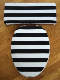toilet seat lid covers. Black And White Stripe Toilet Seat Tank Lid By LoveVanillaRose How To Sew Toilet Seat Lid Covers  Tan Beige Cover
