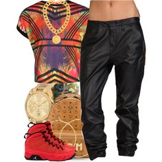 A fashion look from July 2014 featuring Boohoo t-shirts, rag & bone/JEAN pants and MCM backpacks. Browse and shop related looks.