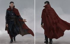 We have another amazing batch of concept art from Doctor Strange here providing some trippy alternate takes on the costumes worn by the Sorcerer Supreme, The Ancient One, and Baron Mordo.