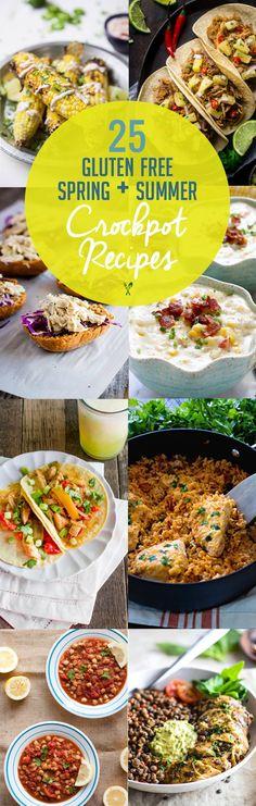25 Spring/Summer Gluten Free Crock Pot Recipes