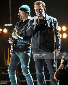 The Edge and Bono [DreamFest, San Francisco - 2016] Photo by: ©Steve Jennings #U2 #U2NewsIT #u2memes #U240 #TheEdge #Bono #BonoVox #singer #guitarist #guitar #musician #rock #music #rockmusic #rockconcert #rockshow #sanfrancisco #dreamfest #2010smusic #2010s
