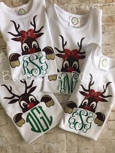 Cute Christmas Reindeer SVG Cuttable Design