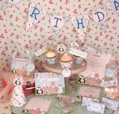 Picnic Party | Teddy Bears Picnic Party Stationery Collection | Creative Little ...