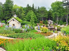 Awesome Garden to see!! The 250-acre Coastal Maine Botanical Gardens help conserve and display the botanical diversity of the Maine coastline.