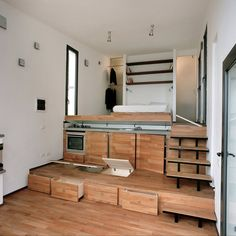 A Studio Home with a Stepped Floor Plan  ~ click on photo for more ~