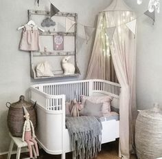 Pottery Barn Kids' bedroom furniture is designed for top quality as well as safety and security. Find furniture for kids and also children to decorate with ageless style. Chic Nursery, Nursery Room, Baby Bedroom, Girls Bedroom, Toddler Rooms, Nursery Inspiration, Nursery Ideas, Room Ideas, Baby Furniture