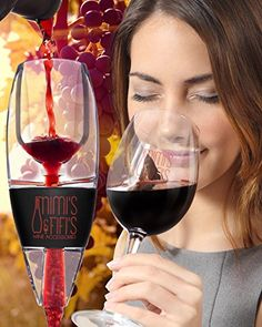Best Wine Aerator Decanter for Red Wine, Unique Gift Idea For Women, Men, Her, Him, Anniversary, Birthday, Christmas, Couples, Friendship, Wine Gift, Compare to Vinturi Brand - My Shop Lifestyle