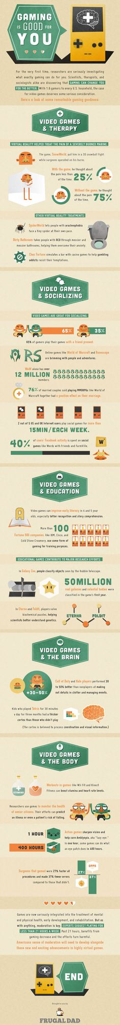 Gaming Is Good For You | MakeUseOf Geeky Fun