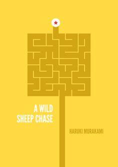 Haruki Murakami - Minimal Covers on Behance