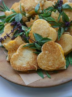 April Is National Grilled Cheese Month... Mini Grilled Cheese Sandwiches (1) From: Oh Joy, please visit