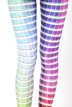 Black Milk Clothing Hex Colour Leggings M PC