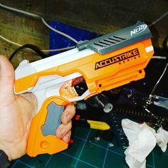 Nerf Snipers, Modified Nerf Guns, Pistola Nerf, Cool Nerf Guns, Nerf Mod, Mandalorian Armor, Lego Craft, Airsoft Gear, Steampunk