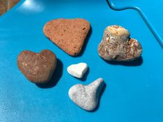 Set of 5 Heart Natural Shaped Rocks from Greek Island, Heart Shaped Beach Stones, Natural Heart Rocks for Pebble Art and Wedding Table Decor Aquarium Decorations, Table Decorations, Hag Stones, Beach Stones, Beach Crafts, Natural Shapes, Island Beach, Pebble Art, Beach Themes