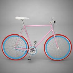Bike by Me 2010 Pink Red - Bike by Me