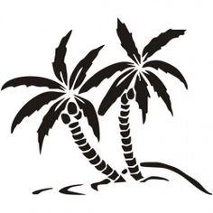 Szablon do malowania TX 70, palmy, TX70, drzewko, drzewka