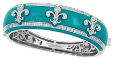 Belle Etoile Fleur de Lis Gold Jewelry, Jewelry Box, Cuff Bracelets, Bangles, Tiffany Blue, Beautiful Rings, Dior, Teal, Bling