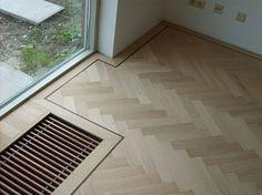 Chevron Floor, Living Room Flooring, Timber Flooring, Cabinet Makers, Luxury Interior, Joinery, Decoration, Tile Floor, New Homes
