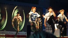 160810 Muju Korea-China martial festival (BTS)- Fullfancam