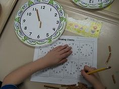telling time ideas