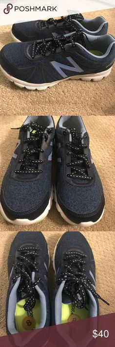 BRAND NEW!!! New Balance navy sneakers BRAND NEW!!! New Balance sneakers in navy with green detailing New Balance Shoes Sneakers