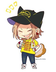 """ヤマコ(HoneyWorks) on Twitter: """"いつものシバケン… """" Happy Tree Friends, Vocaloid, Zutto Mae Kara, Chibi, Honey Works, Boy Art, Shrek, S Pic, Cute Food"""