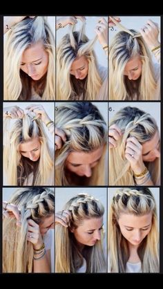 Easy Quick Hairstyles Simple Nice Quick Hairstyle For This Morning Twists Bobby Pins And A