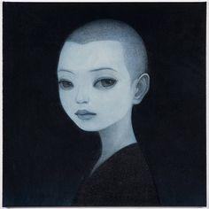 "darksilenceinsuburbia: "" DAF Group Feature: Vol Hideaki Kawashima "" Artwork Display, Les Sentiments, Online Gallery, Pretty Pictures, Dark Art, Les Oeuvres, Illustrators, Fantasy Art, Cool Art"