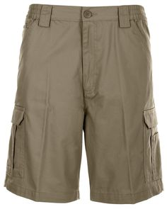Look sharp and have a place fora ll your stuff with Weekender®r Men's Compass 8-Pocket Cargo Shorts. Find other colors ans styles at GuyGifter.com.
